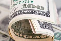 Dollars close-up Stock Photo