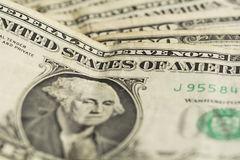 Dollars, close up Stock Images