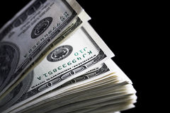 Dollars close up Stock Image