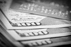 Dollars and Credit Card Stock Photos