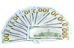Dollars currency isolated Royalty Free Stock Image