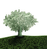 Dollars d'arbre Illustration Stock