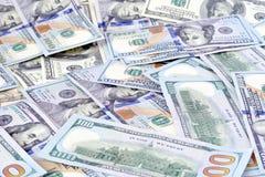 Dollars d'argent Image stock