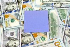 Dollars d'argent Images libres de droits