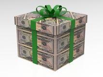 50 dollars de cadeau d'argent Image stock