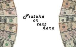 Dollars de cadre Photos stock