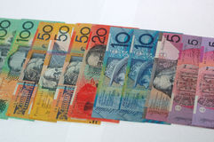 Dollars de l'Australie Photo stock