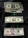 Dollars de mathématiques Images libres de droits