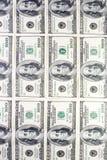 Dollars de mur Images stock