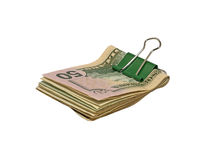 Dollars de paquet. photo libre de droits