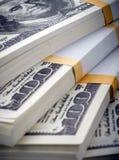 dollars de paquet Image stock