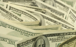 Dollars de plan rapproché Images stock