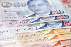 Dollars de Singapour Photos stock