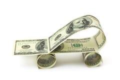 dollars de véhicule effectués Photo libre de droits