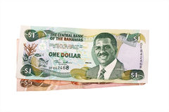 Dollars des Bahamas Images stock