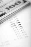 Dollars en Leningsplan Stock Afbeeldingen