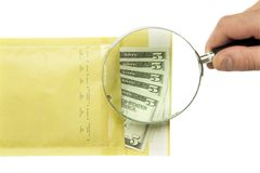 Dollars in the envelope Stock Photo