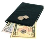 Dollars et documents d'Etats-Unis Images libres de droits