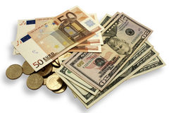 Free Dollars Euros Stock Photos - 14506963