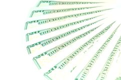 Dollars fan Royalty Free Stock Photo