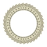 Dollars Frame Royalty Free Stock Image
