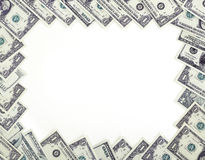 Dollars frame Royalty Free Stock Image