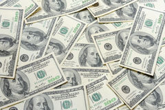 Dollars - full frame Royalty Free Stock Images