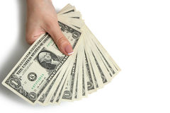 Dollars Royalty Free Stock Photography