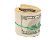 Dollars isolated Stock Image
