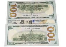 Dollars isolated on white Stock Photos