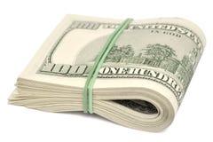 Dollars. Isolated on white background Royalty Free Stock Photos