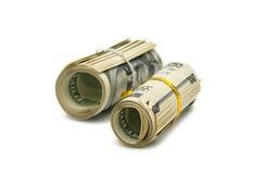 Dollars isolated Stock Image