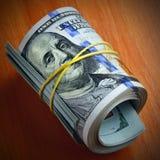 Dollars keep silent Royalty Free Stock Photo