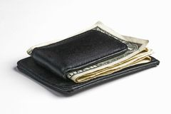 Dollars in money clip Royalty Free Stock Photo