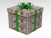 50 dollars money gift Stock Image