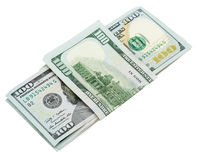 Dollars money isolated on the white background Stock Photo
