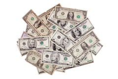 Dollars mount Royalty Free Stock Photos