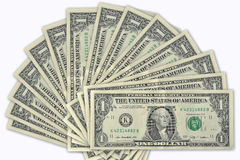 Dollars notes Royalty Free Stock Image