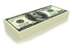 Dollars a pack Stock Photos