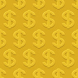 Dollars pattern Royalty Free Stock Photography
