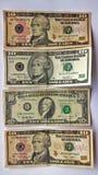 dollars rekeningen Royalty-vrije Stock Fotografie