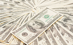 Dollars seamless background Royalty Free Stock Photography