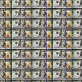 Dollars seamless background. Stock Photography