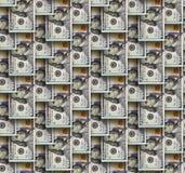 Dollars seamless background. Royalty Free Stock Image