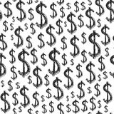 Dollars seamless pattern Stock Images