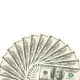 Dollars spread Royalty Free Stock Image