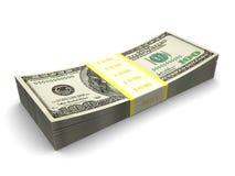 Dollars stack Stock Image