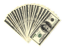 Dollars stack Royalty Free Stock Photos