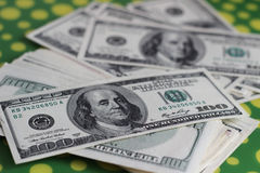 Dollars. Still life with american dollars Stock Images