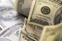 Dollars on the table Stock Photos